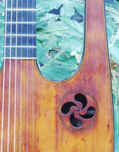 French Lyre Guitar