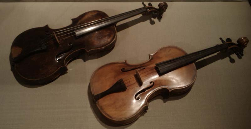 Violas in Budapest museum